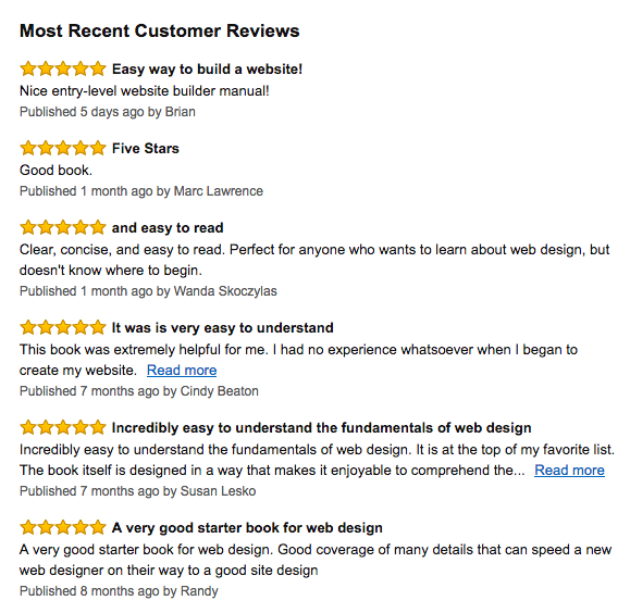 book reviews amazon